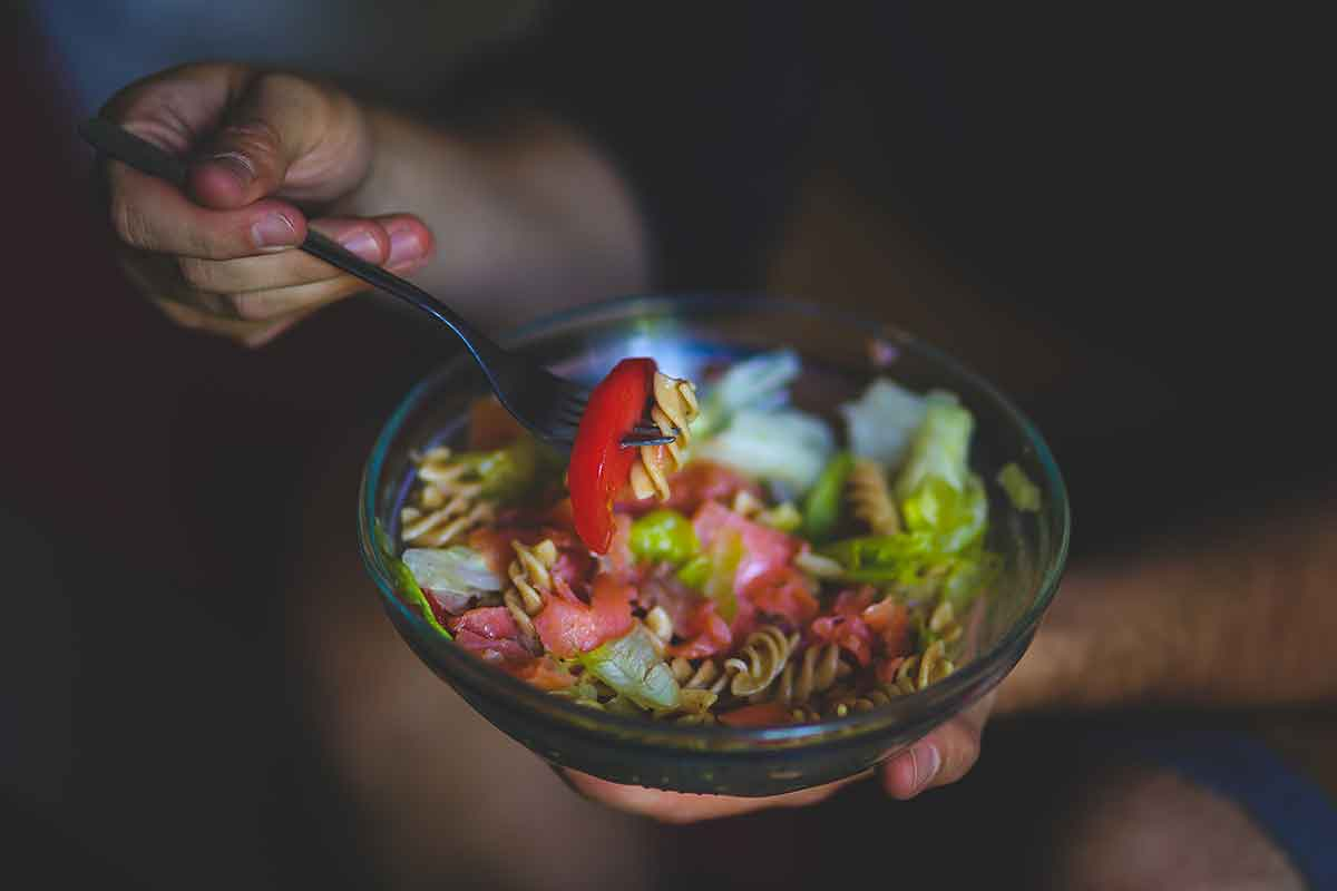 eating healthy drug rehab